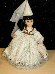 """Madame Alexander """"Juliet"""" Romance Collection 12"""" Doll w/Box,Tag & Stand 1309 EUC"""