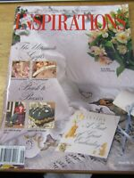 INSPIRATIONS ISSUE NO. 9  1995 THE WORLDS MOST  BEAUTIFUL EMBROIDERY