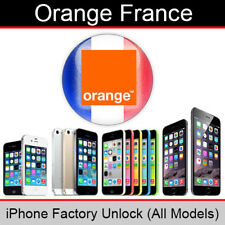 Orange France iPhone Factory Unlocking Service (All Models)