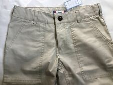 $79 NEW Tags Jacadi Paris Boys FORESTER Sand Beige Pants 100% COTTON Slacks 10 Y