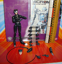 Microman Takara  DC comics Catwoman loose. movie Batman Superman Robin HTF Lee