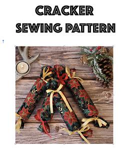 Christmas Cracker Sewing Pattern, Beginners Sewing Pattern, Easy Sewing Pattern