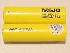 10 MXJO IMR 18650 Li-MN BATTERY HIGH DRAIN RECHARGEABLE 3.7v 3500mAh 20A