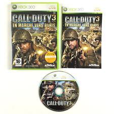 Jeu Call of Duty 3 - En marche vers Paris Sur Xbox 360 Console Microsoft