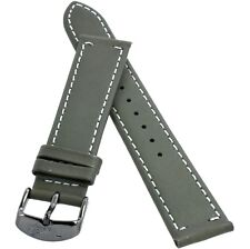 TIMEX Original Watch Strap Band for TW2P96000 Waterbury 20mm Green Leather