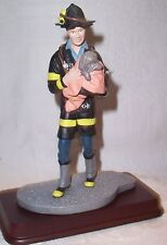 Firefighter Rescues Puppy Figurine by Dave Grossman New Fireman