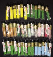 Lot Of 40 Cylinders Of DARICE Japanese Premium Glass Beads. All Unopened. Crafts