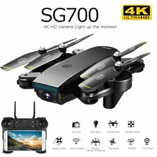 SG700D RC Drone 4K Dual Camera WiFi FPV Optical Flow Quadcopter Helicopter  Toy