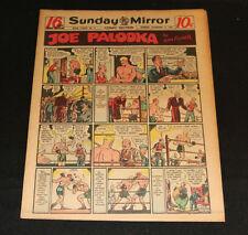 1947 Sunday Mirror Weekly Comic Section November 2nd (F+) Superman Joe Palooka
