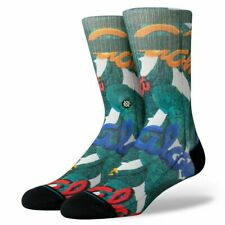 Stance Classic Medium Cushion Aloha Leaves Multicolor. Large 9-12