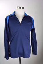 Sugoi Long Sleeve Cycling Jersey Shirt Athletic Navy Blue Biking Road Bike Sz XL