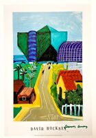 Hand signed signature -  DAVID HOCKNEY - pop art - posters - pool - with COA