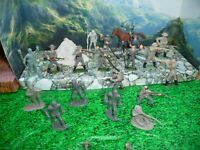 MARX 60MM AND  WOW REBEL  LOT  DEAL -PLASTIC FIGURES-L@@K!!