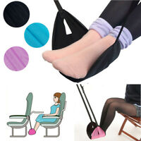 Portable Folding Travel Foot Rest Carry-on Relax Pillow Flight Seat  UK UK! AU1
