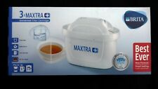 BRITA Maxtra+ Plus x 3 Water Universal Filter Replacement Cartridges
