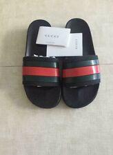 Gucci Women's Logo Slides Rubber-Flip Flops/Sandals/Slippers EU 37