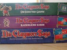 Claymore Saga mit Schatten Legion und Kaiserliche Garde