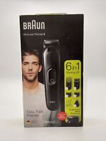 Braun Men's Beard Trimmer and Hair Clipper Kit MGK3220 ‼️