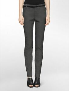 (10 US) 12 14 Calvin Klein Skinny Pants NWT $89.50 *BUY FIVE + ITEMS GET = POST