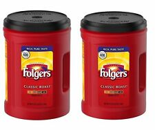 LOT of 2  Folgers Classic Roast Ground Coffee (51 oz.) *BEST DEAL*