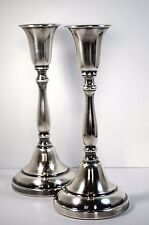 Silver Plated Two Candle Stick Holder The Sheffield Silver Co USA
