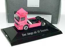 1:87 Mercedes-Benz Atego Zugmaschine pink Der Atego ab 18 Tonnen, Dealer-Edition