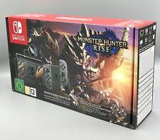Nintendo Switch HAC-001(-01) Monster Hunter Rise Edition - 32GB, Grau/Gold