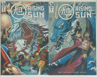 Rising Sun #1 First Print + 1:10 Variant NM IDW Comics 2020