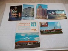 Collection Of Hotel / Motel American Postcards From The 1960's