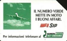 Numero verde AEREO n°345 val 5000 scad 31 12 95 Mn USATA
