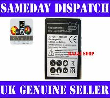 High Capacity Battery for HTC Legend G6 1500mah UK