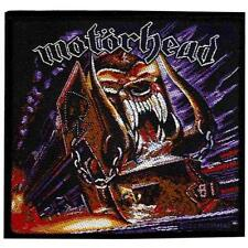 OFFICIAL LICENSED - MOTORHEAD - ORGASMATRON SEW ON PATCH METAL LEMMY