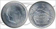 España - Monedas Franco circulación- Año: 1959 - numero 00308 - S/C- 5 pta 1957