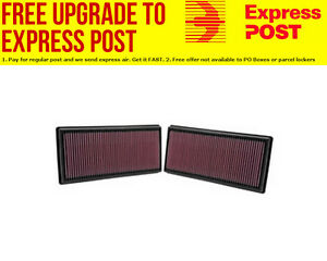 K&N Replacement Panel Filter Suit 2009-2013 Land Rover Discovery 5.0L & Range Ro