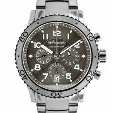Breguet Transatlantique Flyback XXI Chronograph Automatic Mens Watch 3810