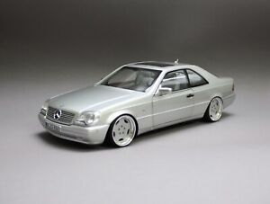 MERCEDES BENZ S 600 500 V12 COUPE W140 AMG RÄDER 1:18 TUNINGMODELL OVP