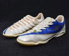 DalPonte Soccer Shoes Brazil Dal Ponte Mens Size 10 Football White Blue Good Cnd
