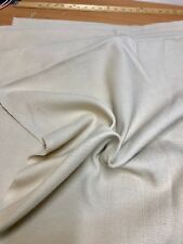 LUXURIOUS NATURAL NONE FR LINEN SOFT CURTAIN UPHOLSTERY FABRIC 8.2 METRES