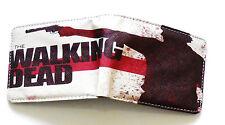 Mens The Walking Dead DVD movie Bifold Wallet or purse 3 card slots id window