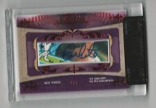 Roy White 2010 TriStar Signa Cuts Bronx Edition New York Yankees Auto Card 1/5