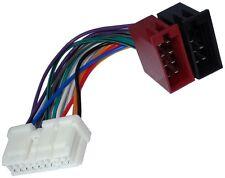 Adaptador cable enchufe ISO para autoradio de Nissan 350Z Almera Tino Micra