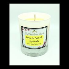 Jasmin & Patchouli Scented Soy Candle - GeriBeri Scented Candles
