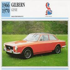 1966-1970 GILBERN GENIE Classic Car Photo/Info Maxi Card