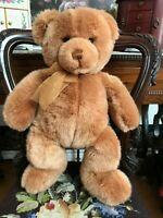 Gund TENDER TEDDY Bronze Plush Bear 16 inch 6415 Handmade 2001 MINT