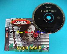 CD Singolo Space  Begin Again CXGUT19 UK 1998 no mc lp vhs dvd(S23)