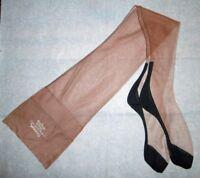 bas nylon T10 ww2 neuf couture 54g/15d cubain FF contraste stocking seamed 312/