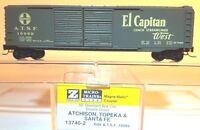 Z MTL 13740-2 50ft Box Car Double Doors Santa Fe/ATSF El Capitan LNIB
