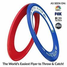 Flying Rings [2 Pack] Fly Straight Disc Don't Hurt Flying Discs Life Kid's