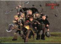 How To Train Your Dragon 2 Vikings Group Shot Magnet