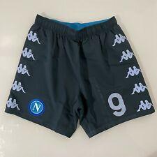 Osimhen Napoli panta prepar Serie A 2020 2021 match worn issued shorts no shirt